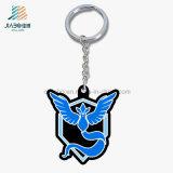로고 선전용 선물 주물 사기질 Pokemon 금속 열쇠 고리를 주문을 받아서 만드십시오