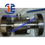 API/DIN/JISのハンドルのステンレス鋼の高圧造られたフランジの球弁