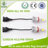 Todos en una lámpara LED 9005/9006 3000k/6000k 3200lm de la niebla