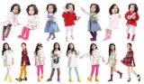 Heiße Verkaufs-Großverkauf Soem-Service-Kind-Kind-Baumwoll-Polyester-Socke