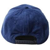 Tampão por atacado do Snapback do painel do bordado 6 do chapéu da camurça