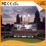 Publicidad de la pantalla de visualización a todo color al aire libre de LED de la representación visual (P5 P6 P10 P8) con precio de fábrica inferior