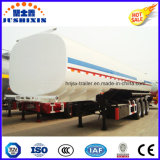 3 as 40000 Van het Koolstofstaal van de Brandstof van de Tanker Liter Aanhangwagen van de Vrachtwagen van de Semi met Silo 4