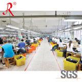 Lagen van de Regen van pvc van de Bevordering van de Verkoop van de fabriek de Gele met Broek (qf-748)