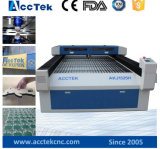 Laser Machine Akj1325h Widely Used di Cutting Metal di alta precisione con CO2 il laser Tube