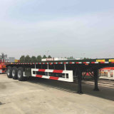 3 Axle 40FT плоской кровати контейнера трейлер Semi