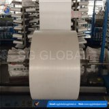 60GSM sac tissé par polypropylène blanc Rolls
