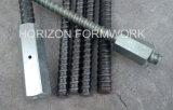 Pezzo fuso Iron Formwork Tie Bar e Wing Nut