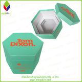 Geschenk-Feld-steifes Papier, das unregelmäßigen Hexagon-Kasten verpackt