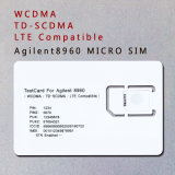 Tarjeta de prueba de LTE 4G WCDMA 3G TD-SCDMA tarjeta Tarjeta SIM micro de Agilent 8960