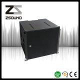 Zsound Vcs se dobla línea configuración subsónica del sistema audio de 15 pulgadas del arsenal