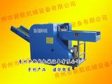 Spugna industriale che taglia macchina/tagliuzzatrice a pezzi del tessuto