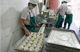 La vente de l'acier inoxydable Baozi Momo a cuit le pain bourré formant la machine