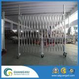 Temporärer expandierbarer beweglicher Aluminiumzaun