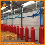 Linha de Coatiing do pó de Automactic do cilindro de gás do LPG