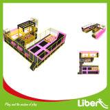 Parque rectangular de interior del trampolín de la talla de la alta calidad del trampolín disponible del Rebounder