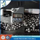 11.1125mm übliche Edelstahl-Kugel G40-2000 der Art-AISI304