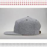Chapeau plat blanc fait sur commande de Snapback de panneau du bord 6