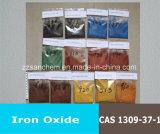 黄色か赤くまたは黒い中国の鉄酸化物か低価格のオレンジまたは青またはブラウン
