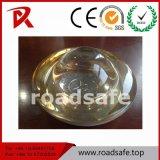Goujon en verre r3fléchissant de route de 360 degrés de borne en verre de revêtement de la chaussée