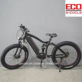 Batería de litio y bicicleta eléctrica del motor medio