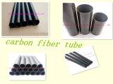 Resistencia de la deformación, tubo no tóxico de la fibra del carbón