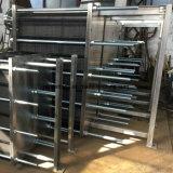 스테인리스 플랜지 세 배 죔쇠 연결을%s 가진 우유를 위한 격판덮개 냉각기 또는 격판덮개 열교환기