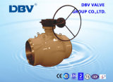 Válvula de bola forjada o moldeada de carbono o acero inoxidable