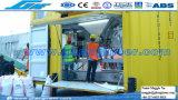 Empaquetamiento de relleno móvil automático y balanza con control del PLC