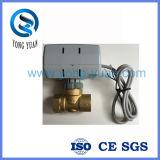 La valvola attuata elettrica inserita/disinserita bidirezionale ha motorizzato la valvola per la bobina del ventilatore (BS-848)