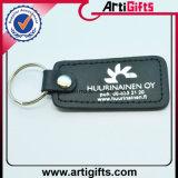 Изготовленный на заказ металл Keychain кожи печатание