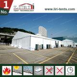 barraca de 20X35m para a mostra ao ar livre da exposição do ar