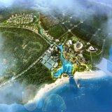 西海岸のGuzhenkouの都市計画外部のレンダリングのプロジェクト