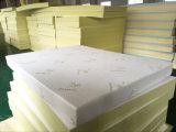 Colchón comprimido y rodado de la alta calidad de la memoria de la espuma con la cubierta de tela de bambú