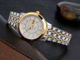 Form-Edelstahl-Uhr-beiläufige Paar-automatische Uhren