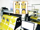 Papel adesivo pegajoso do Inkjet do Sublimation de Skyimage Fw 100GSM para Dx-5/Dx-7/Seiko/Konica/Ricoh/5113