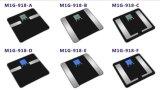 Escala de las grasas de cuerpo de Digitaces con el contraluz azul (M1G-918) con Bluetooth (opcional)