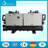 refrigeratore ermetico raffreddato ad acqua industriale della vite 280kw