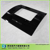 vidro liso colorido da capa da escala da curva da impressão da tela de seda de 4mm 5mm