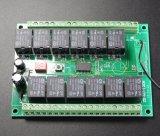 Récepteur sans fil 433MHz de glissières de dc 12 de Zd 12V/24V