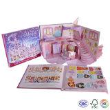 Papel de impresión emergente Libro / Libro 3D para niños de aprendizaje o Entretenimiento