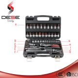 46PCS Car Repair Ratcher Spanner Handtool Bit Set