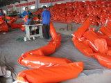 Mais densamente cerca contínua do petróleo do PVC de Floation