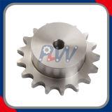 ステンレス鋼のスプロケット(機械装置を運転する工学で加えられる)