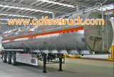Tanker, 5570cbm de semi aanhangwagen van de 4 assentank