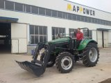 前部端Loader Map804 100HP Pto Hydraulic Pump Tractor