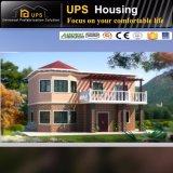 La casa prefabricada certificada el Ce de acero galvanizada caliente contiene estilo del envase