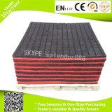 500*500mm, tuiles de cour de jeu utilisées par plancher en caoutchouc en gros