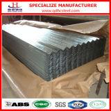 Hoja de acero acanalada de capa del material para techos de G550 Az100 Aluzinc