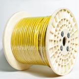 Câblage cuivre isolé par PVC d'intérieur d'A.W.G. 300/500V